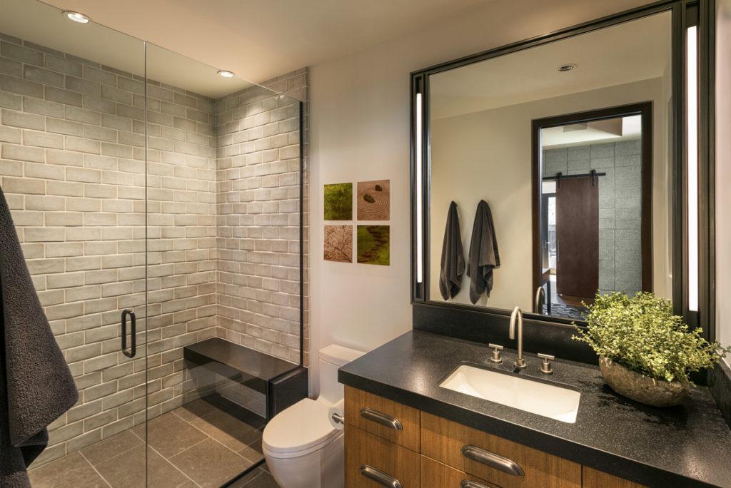 Interior design gallery scottsdale phoenix paradise for Modern ranch bathroom