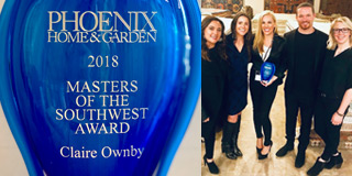 Phoenix Home & Garden Masters of the Southwest Award