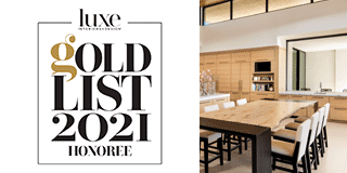 Luxe Gold List 2021 Honoree